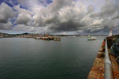 Port de Newlyn Images libres de droits