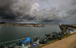 Port de Newlyn Photo stock