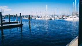 Port de Neworp en Rhode Island image libre de droits