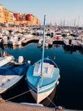 Port de Nice,法国 图库摄影