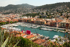 Port de Nice Images stock