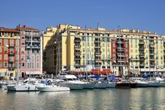 Port de Nice in France Royalty Free Stock Images