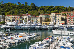 Port de Nice, France Images stock