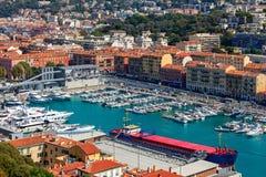 Port de Nice, France Photographie stock libre de droits