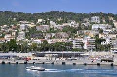 Port de Nice in Frankreich Lizenzfreie Stockfotografie
