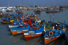 Port de pêche Photos libres de droits