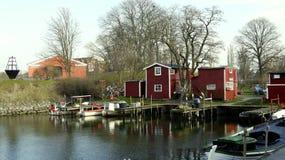 Port de pêche Photographie stock libre de droits