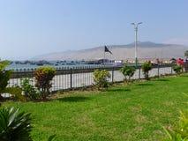 Port de pêche d'Ancon Image libre de droits