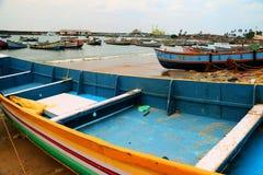 Port de pêche de Vizhinjam Images stock