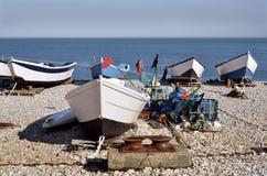 Port de pêche de Yport en France Photo stock