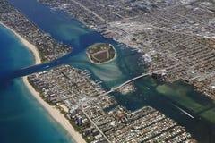 Port de Palm Beach Photo libre de droits