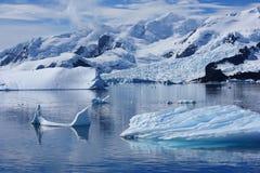 Port de paradis, Antarctique Images libres de droits