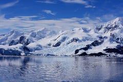 Port de paradis, Antarctique Photographie stock