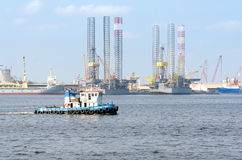 Port de Pasir Gudang Photographie stock libre de droits