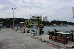 Port de Pattaya Photo libre de droits
