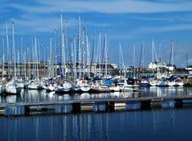 Port de plaisir Images stock