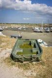 Port de Portbail, Normandie, France Photographie stock
