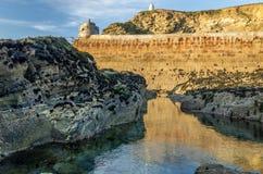 Port de Portreath Photographie stock libre de droits