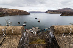 Port de Portree Photos stock