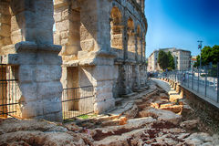 Port de Pula Photographie stock