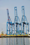 Port de récipient Photo stock