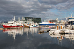 Port de Reykjavik Image stock