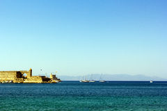 Port de Rhodes Photo stock