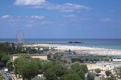 Port de Rimini Photos libres de droits