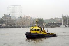 Port de Rotterdam Images libres de droits