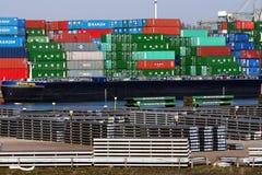 Port de Rotterdam Photographie stock libre de droits