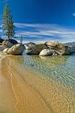 Port de sable Images libres de droits