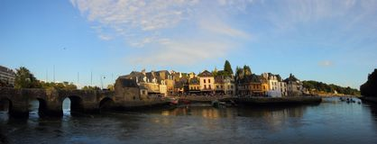 Port de saint Goustan, Auray Photos stock