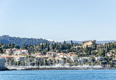 Port de Saint Jean Cap Ferrat Immagine Stock