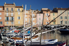 Port de saint Tropez photo stock