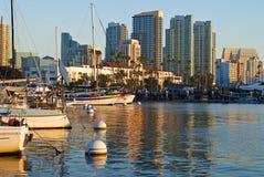 Port de San Diego Photo libre de droits
