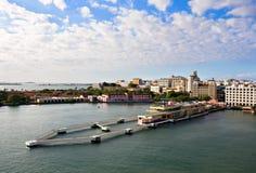 Port de San Juan Photographie stock
