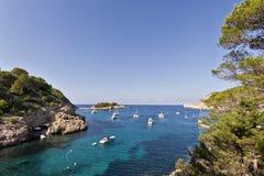 Port de SAN Miquel, Ibiza στοκ φωτογραφίες με δικαίωμα ελεύθερης χρήσης