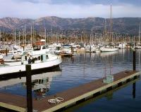 Port de Santa Barbara Image libre de droits
