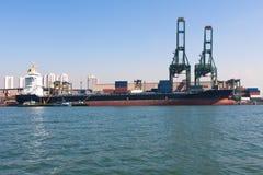 Port de Santos Image stock