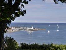 Port de Scarborough Images stock