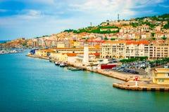Port de Sete, France photographie stock libre de droits