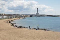 Port de Shoreham. Le Sussex occidental. LE R-U images stock