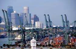 Port de Singapour Photos libres de droits