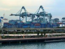 Port de SINGAPOUR Image libre de droits