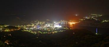 Port de Skala sur l'île de Patmos Photographie stock