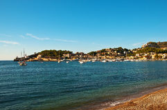 Port de Soller Royalty Free Stock Photo