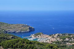 Port de Soller Royalty Free Stock Photos