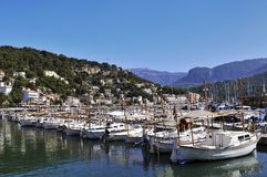Port de Soller Royalty Free Stock Image