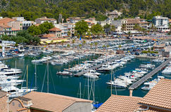 Port de Soller Immagine Stock