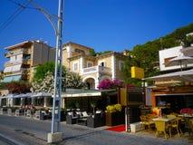 Port de Soller. City in Mallorca, Balearic island Royalty Free Stock Image